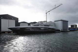 50m superyacht Ventura - Photo Dick Holthuis