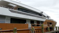 55m Heesen AZAMANTA Yacht - side view - Photo by Dutchmegayachts