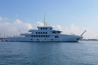 55m superyacht Vogue by Orucoglu Shipyard