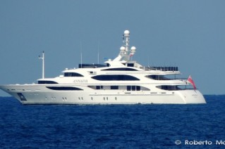 56m Benetti super yacht ANNAEVA Photo by Roberto Malfatti