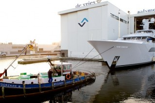 57m Feadship superyacht Larisa at launch-001