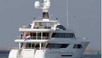 57m Feadship yacht Larisa - Photo by Kees Torn