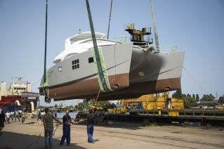 60 Sunreef Power yacht MEOW by Sunreef Yachts at launch
