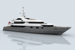 60m CMN superyacht Project 803