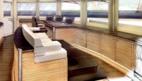 60m motor yacht Amels 199 Dual bridge conning stations with observer seats