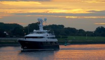 60m superyacht KAISER (hull 6482) by Abeking & Rasmussen - Photo by DrDuu