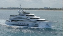 61 m charter yacht Diamonds Are Forever