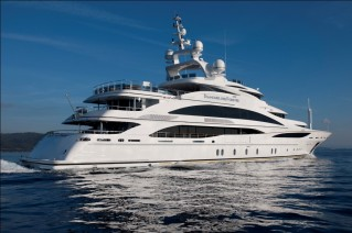 61m Motor yacht Diamonds are Forever launched by Benetti Yachts