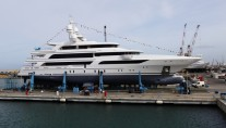 63m Benetti superyacht FB264 at launch