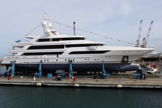 63m Benetti superyacht FB264 at launch.JPG