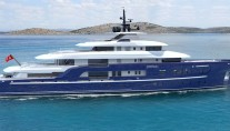 64m Hakvoort motor yacht SOMETHING COOL - Image credit to Dutchmegayachtsjpg