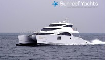70 SUNREEF POWER CATAMARAN VIOLETTA