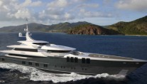 70m mega yacht ZENITH (Project SKYFALL, hull 681) by Sunrise Yachts