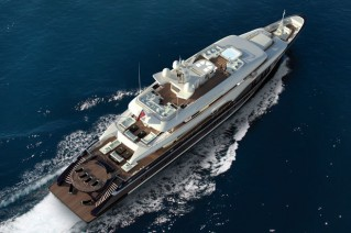 73.50m Motor Yacht Sapphire by Nobiskrug