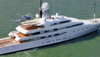 73.7m Amels megayacht ILONA after refit
