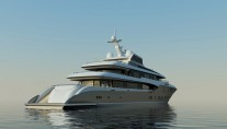 73m Project 423 superyacht - Exterior by Focus Yacht Design