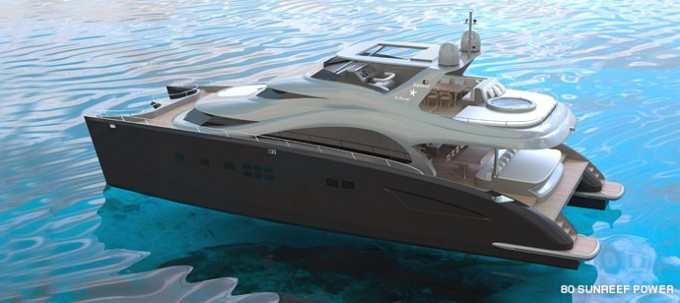 80 Sunreef Power Motor Yacht