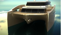 90 Sunreef Power superyacht - front view