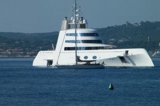 A in France - St Tropez photographed by David Z Hart