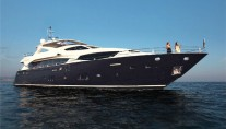 A sistership to Sunseeker 34M13 yacht - charter yacht CASSIOPEIA