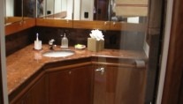 AB NORMAL motor yacht  bathroom