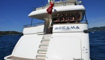 ACCAMA -  Aft View