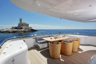 ADRIATIC BLUES - Aft deck