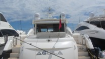 AGUILA -  Aft View