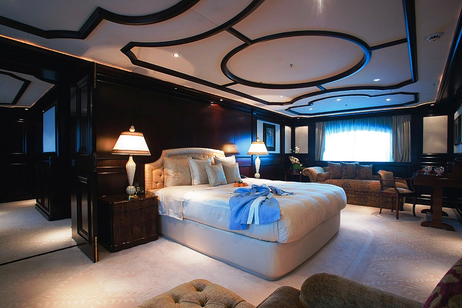 Bed Image Gallery Luxury Yacht Gallery Browser