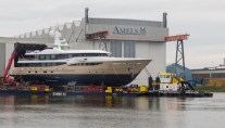 AMELS-180-LILI-preparing-for-launch-at-the-Netherlands-shipyard-665x443