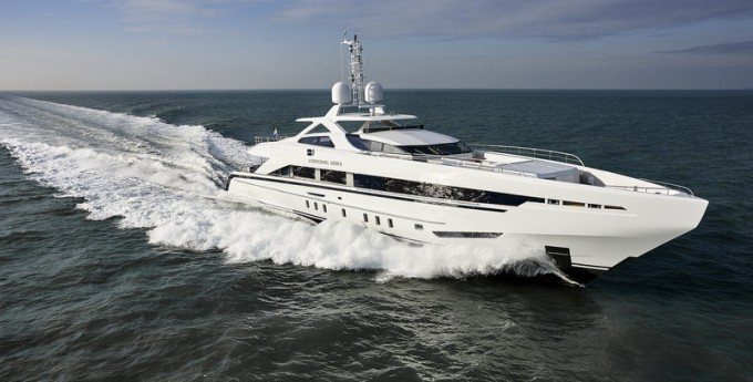 Motor Yacht AMORE MIO (Project NECTO, YN 17145)