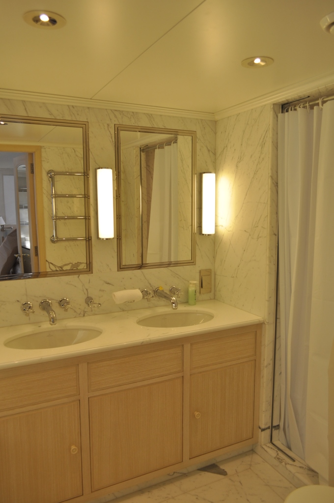 ANCALLIA Master Bathroom Luxury Yacht Image