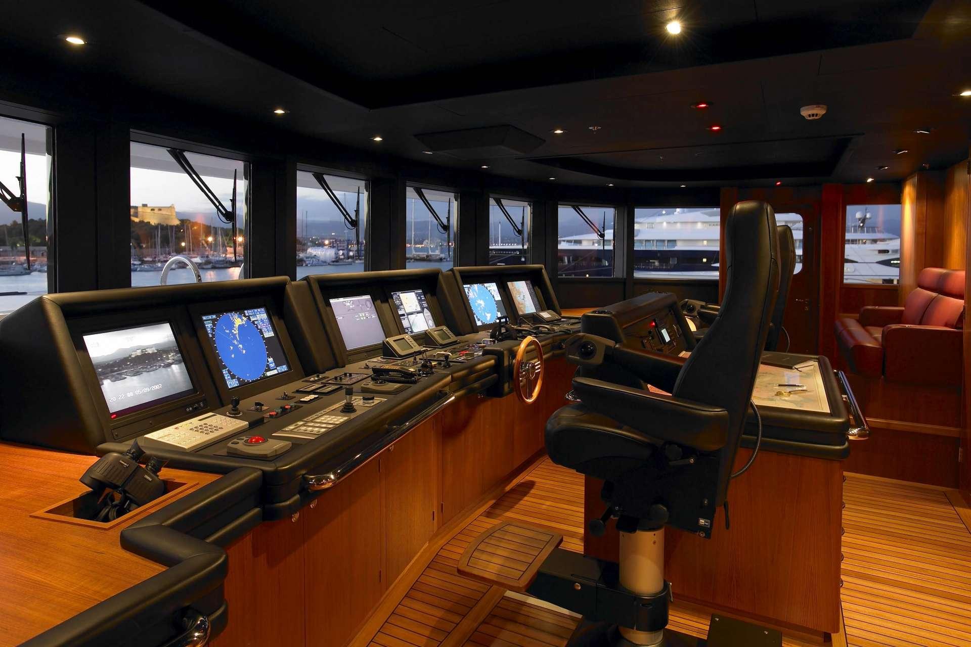 Wheelhouse Image Gallery Luxury Yacht Gallery Browser