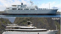 ARK-ANGEL-Superyacht before and after her refit