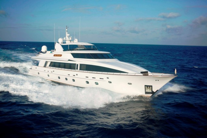 Motor yacht �ASPEN ALTERNATIVE (ex Chairman)