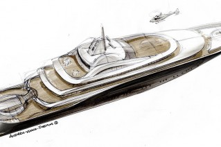 Aalo Alto yacht design by Andrew Winch