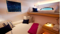 Adastra Yacht - Guest cabin