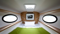Adastra superyacht - Captains cabin
