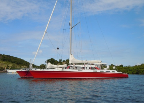 Crewed Catamaran AKKA
