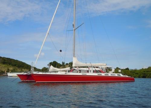 Crewed Catamaran AKKA