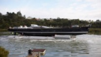 Alloy Yachts Imagine II at her launch