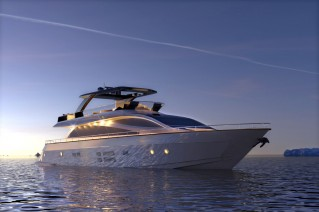 Amer 94 superyacht SAVE THE SEA