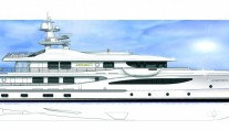 An Amels 177 Limited Editions Motor Yacht designed by Tim Heywood