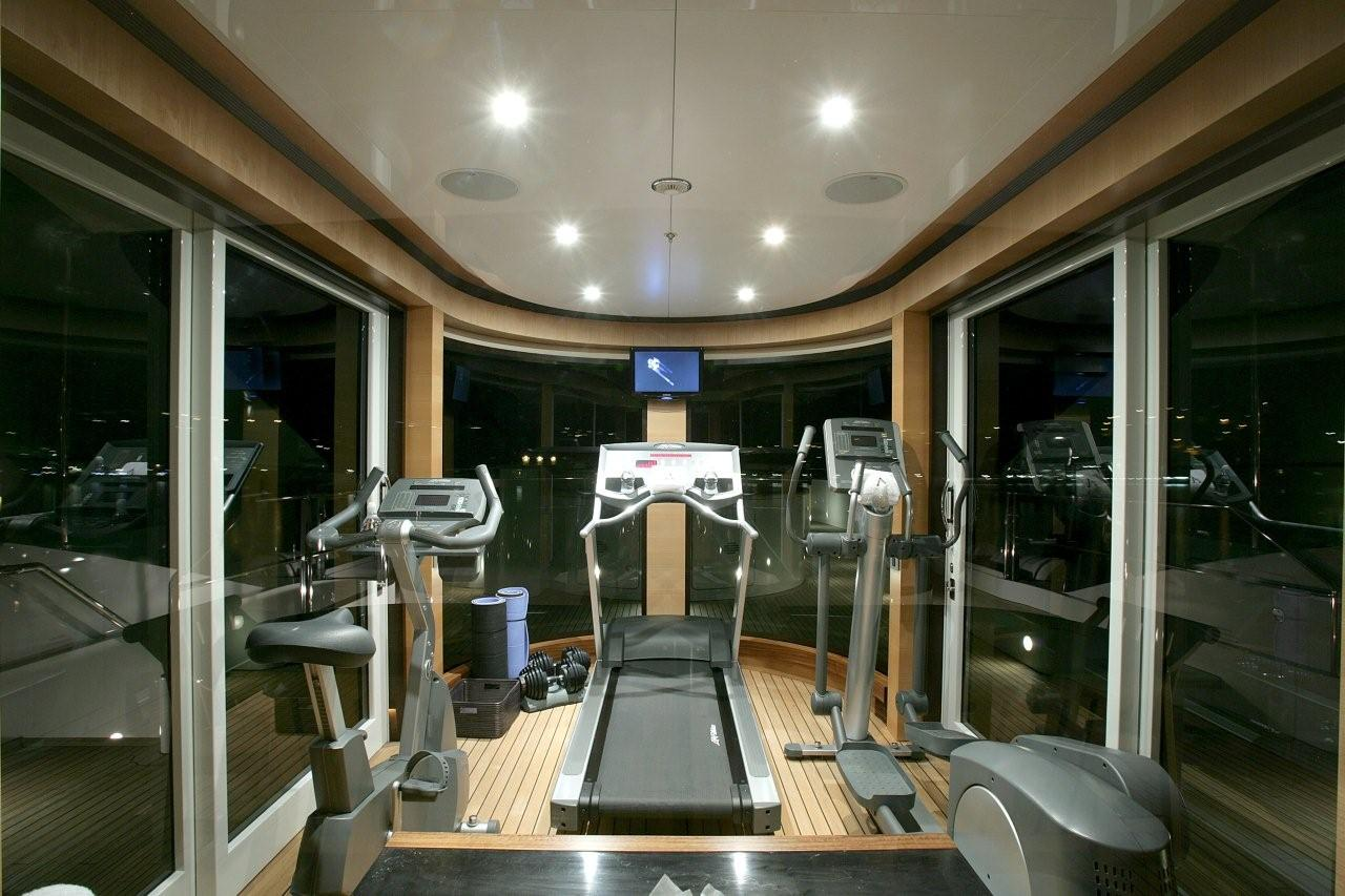 Luxury yacht charter andreas l motor yacht ex amnesia for Luxury home gym