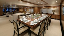 Andreas L Motor Yacht (ex Amnesia)  - Dining
