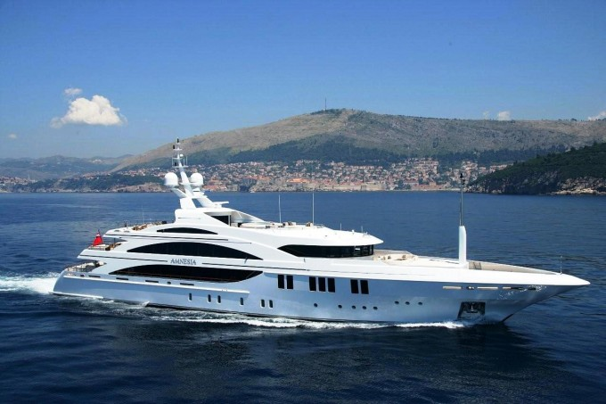Andreas L Motor Yacht (ex Amnesia) - Her Profile