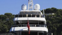 Apostrophe Yacht - aft view
