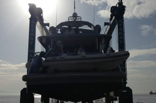 April Yacht at KRM Yacht - Hauling