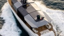 Arcadia 85 motor yacht - view from above