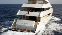 Arethusa -  Aft View